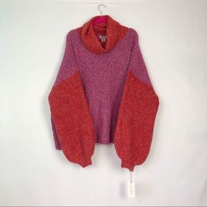 NWT Ruby Moon Plus Size Colourblocked Sweater 3X